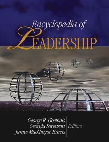 Books : Encyclopedia of Leadership 4 vol. set