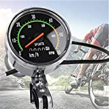 nuaele Bike Speedometer, Old School Style Bicycle