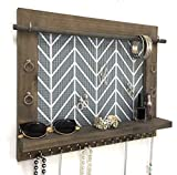 Product review for Handcrafted Wall Hanging Wooden Jewelry Organizer