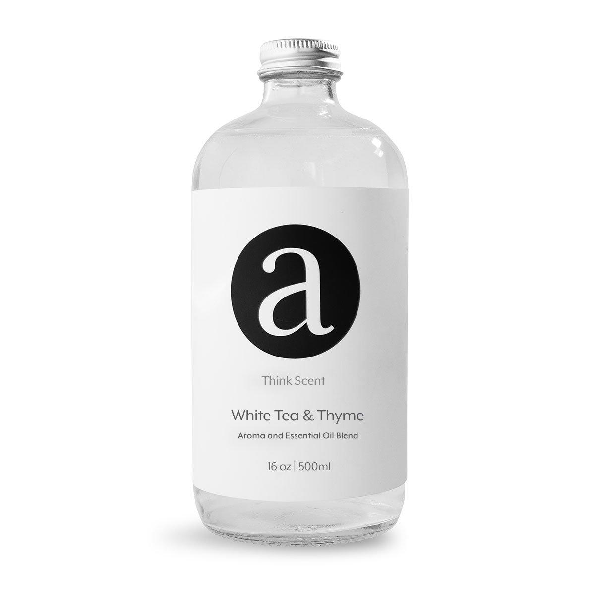 (White Tea & Thyme) Aroma / Fragrance Oil For AromaTech Air Freshener Scent Diffuser (500ml)