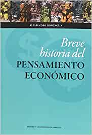 Breve Historia del Pensamiento Económico Ciencias Sociales
