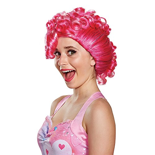 Disguise Women's Pinkie Pie Movie Adult Wig, Pink, One Size ()