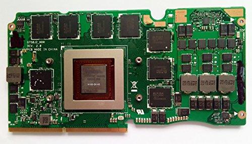 8G Laptop VGA Graphic Card N15E-GX-A2 for Asus ROG G750J G750JS G750JZ GTX870M 8GB VGA Video Graphic Card Compatible 60NB04K0-VG2000 nVIDIA GTX 870M GDDR5 (870 Graphics Card)