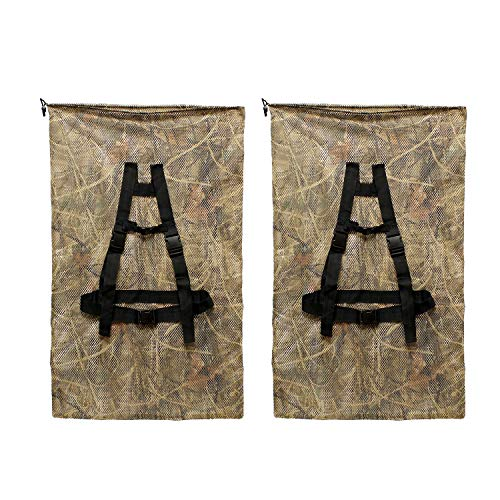 Redneck Convent RC | Mesh Decoy Bag Drawstring Decoy Backpack Decoy Bags Mesh Duck Decoy Bag Turkey Decoy Bags Goose Decoy Bags Camo 2pk
