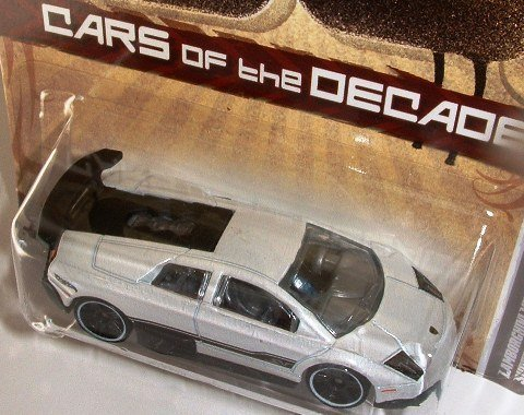 Hot Wheels Cars of the Decades 2000's Lamborghini Murcielago LP 670-4 Superveloce (Lamborghini Gallardo Murcielago)
