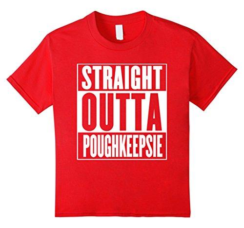 Kids Straight Outta Poughkeepsie Shirt 12 - Kids Poughkeepsie