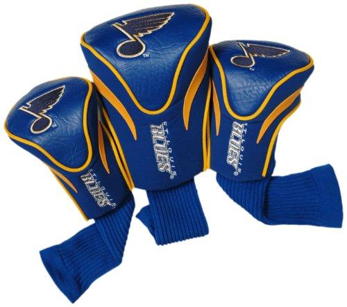 NHL Saint Louis Blues 3 Pack Contour Headcovers ()