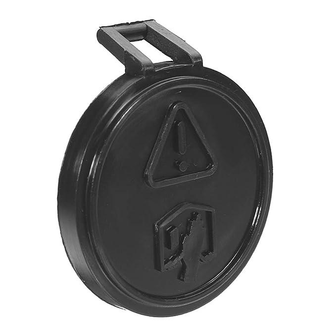 Uzinb Expansión del radiador Botella Tanque de Agua Cubierta Protectora Cap Compatible para BMW Mini Cooper UNO 01-06 Gasolina: Amazon.es: Hogar
