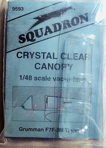 Squadron Products  F7F-3N Tigercat Vacuform Canopy for sale  Delivered anywhere in USA