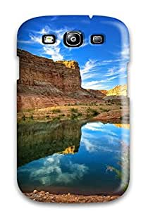 New Arrival Cover Case With Nice Design For Galaxy S3- Canyon Reflections