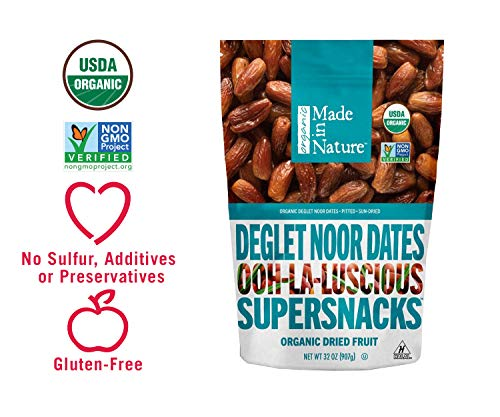 Made In Nature Berries Dates, 32 Ounce Non-GMO Dried Fruit Snack