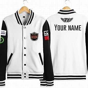 687acdc00 Josherly Fashion;cozy NEW Jacket Spring Champions Team Jersey SKTT1  Baseball Coat Men Faker Jacket
