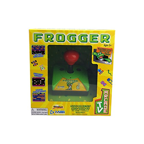 MSi Entertainment TV Arcade - Frogger Gaming System - Not Machine (Frogger Arcade Game)