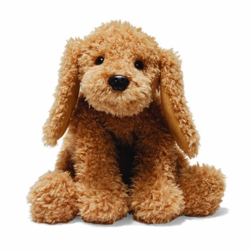 "GUND Puddles Dog Stuffed Animal Plush, Brown, 10"" from GUND"