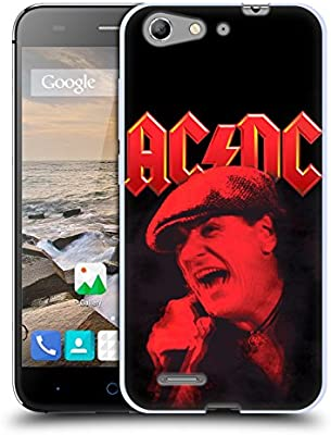 Official AC/DC ACDC Brian Johnson Red Solo Soft Gel Case ...