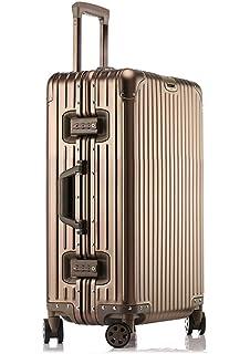 30ff8624ab LNMLAN ハイエンド アルミニウムマグネシウム合金製スーツケース 機内持ち込みスーツケース 預け入れスーツケース キャリー
