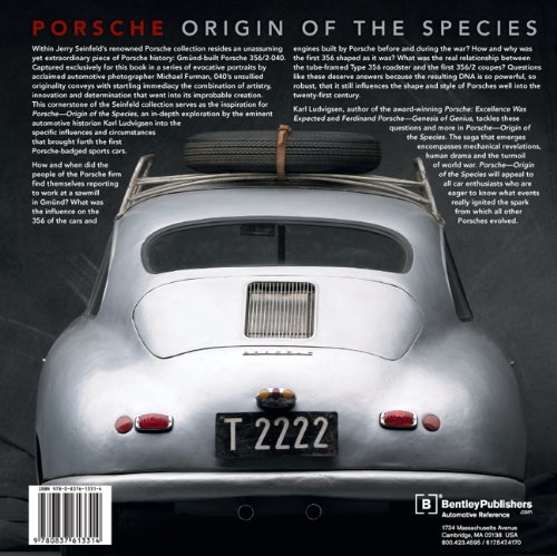 Porsche – Origin of the Species with Foreword by Jerry Seinfeld