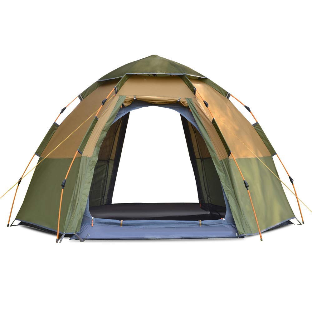 Outdoor 3-4 Person Pop Up Dome Zelt für Camping Wandern Angeln Beach Festival EU Camping & Outdoor