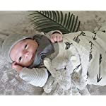 Baby-Swaddle-Blanket-Upsimples-Unisex-Swaddle-Wrap-Soft-Silky-Bamboo-Muslin-Swaddle-Blankets-Neutral-Receiving-Blanket-for-Boys-and-Girls-Large-47-x-47-inches-Set-of-4-ArrowFeatherTentCrisscross