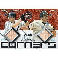$23 » Autograph Warehouse 653603 Jason Giambi & Robin Ventura Player Used Bat Patch Baseball Card - New York Yankees 2003 Topps…