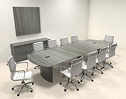 Amazoncom Modern Contemporary Feet Conference Table MTMED - Cheap modern conference table