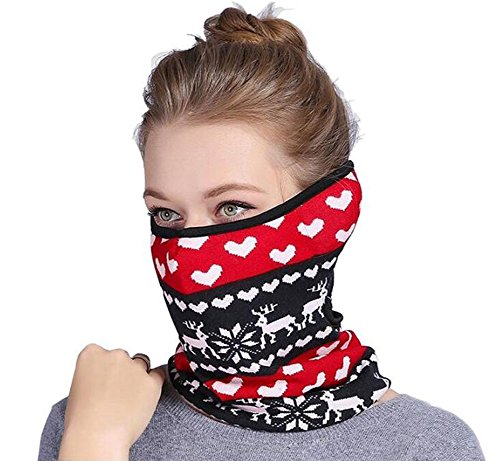 Price comparison product image 1PCS 3 in 1 Set Multifunctional Breathable Windproof Anti-Dust Knitting Winter Warmer Neck Scarf Face Mouth Mask With Earmuff For Outdoors Work Sport Wear