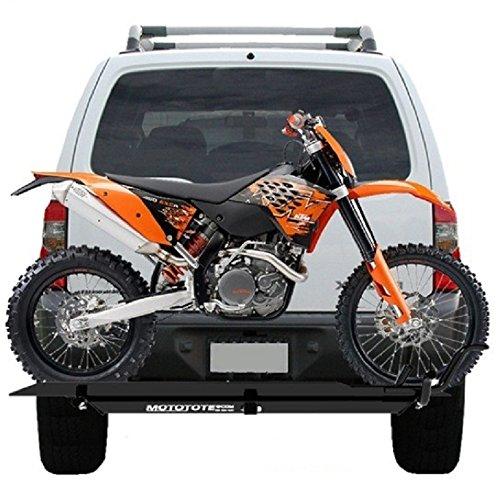 Cheap MOTOTOTE MOTO TOTE DIRT BIKE MOTORCYCLE CARRIER HITCH HAULER RACK RAMP