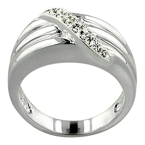 Perfect Memorials Path to Heaven Sterling Silver Cremation Ring Size 10