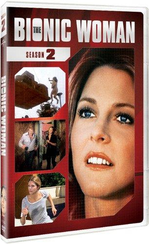 DVD : The Bionic Woman: Season 2 (Boxed Set, Repackaged, 5 Disc)