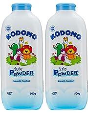 Kodomo Baby Powder Twinpack, 500grams, 2 Count