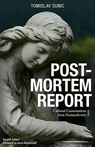 Book cover from Postmortem Report: Cultural Examinations from Postmodernity by Tomislav Sunic