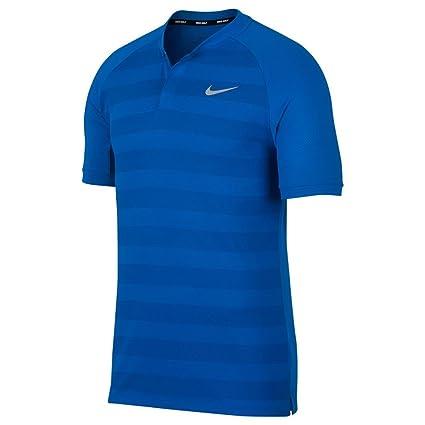 13313eb6 Amazon.com: Nike New Zonal Cooling Stripe Momentum Golf Polo: Sports ...