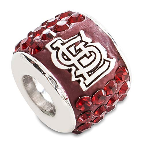 MLB St. Louis Cardinals S/S ST LOUIS CARDINALS PREMIER BEAD CHARM Size One Size
