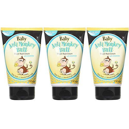 DSE Baby Anti-Monkey Butt Cream, 3 Ounce, 3 Count (Best Anti Rash Cream For Babies)