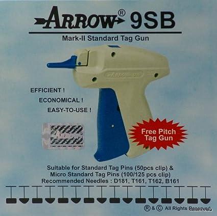 "Arrow Price Tag Gun Extra Needle 1000 2/"" YELLOW Barbs Clothing Tagging Attacher"