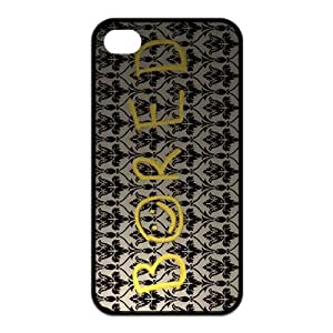 LeonardCustom Protective TPU Rubber Silicon Fitted Cover Case for iPhone 4 / 4S , Sherlock LCI4U29