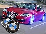 #6: Bearfire 4Pcs Waterproof LED Light Wheel Hub Center Caps Cover (BMW)