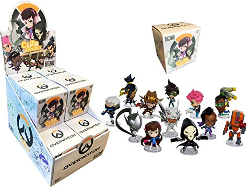 Overwatch Cute But Deadly Series 3 Deluxe Vinyl Figure in Blind Box