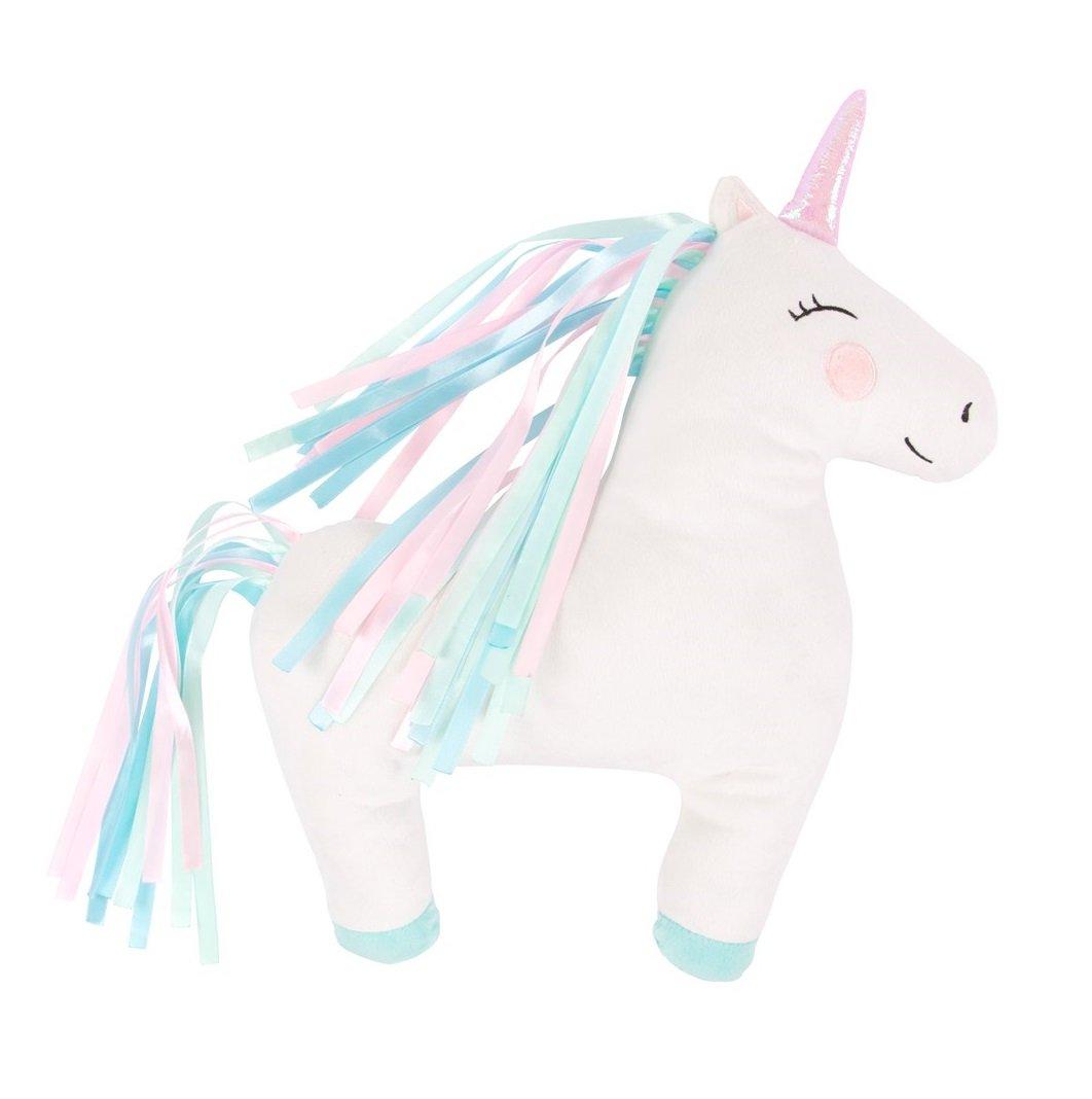 Cushion Rainbow Unicorn Decorative Childrens Bedroom Pillow