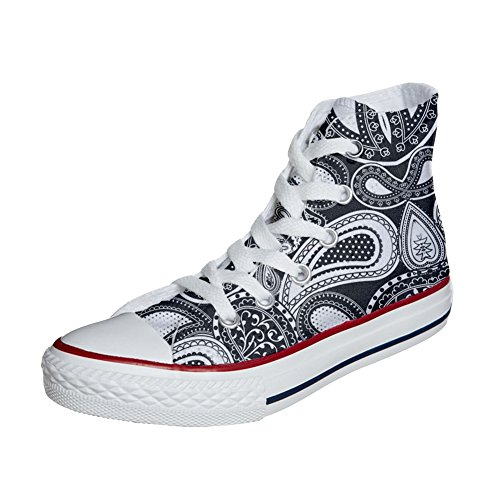 Elegant Personalizadas Paisley Star producto Unisex Converse Customized Zapatos All t0qwaS