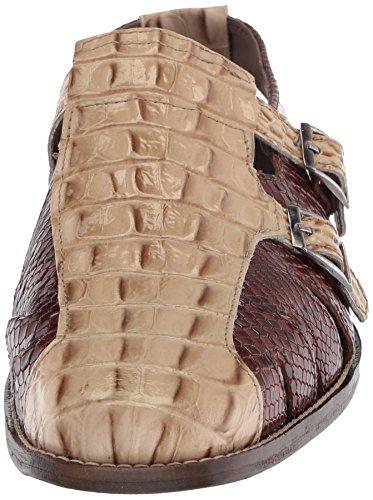 Stacy Adams Men's Seneca Fisherman Sandal Natural Multi MItCd4oZ