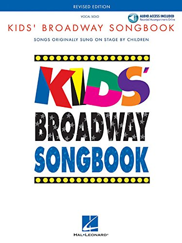Kids' Broadway Songbook (Book/Online Audio) (Vocal Collection) (Books On Broadway Shows)