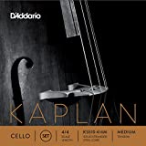 The Kaplan cello set is scaled to fit a 4/4 size instrument with a playing length of 27 1/2 inches (700mm). Medium tension strings are optimized to the needs of a majority of players.