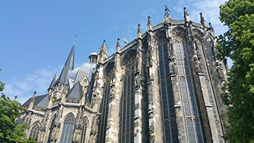Home Comforts Canvas Print Aachen Cathedral Charlemagne Church Stretched Canvas 10 x 14