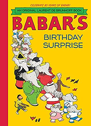 book cover of Babar\'s Birthday Surprise