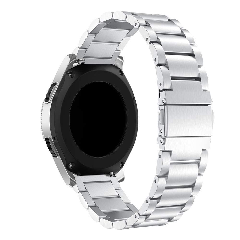 Compatible con Samsung Galaxy Watch 46mm Correa,Gosuper 22mm Metal de Acero Inoxidable Reemplazo Smart Watch Correa Strap Bands para Galaxy Watch 46mm