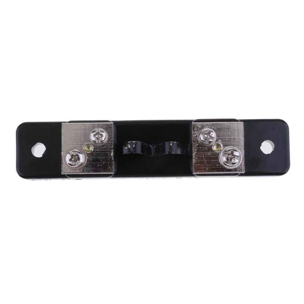 LOVIVER Shunt Resistencia DC Amper/ímetro Amplificador FL-2 10A//20A//30A//50A Medidores de Panel Anal/ógico Cuatro Selecciones 1