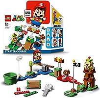 LEGO Kit de construcción Super Mario™ 71360 Recorrido Inicial: Aventuras con Mario, artículo Coleccionable, Juguete y...