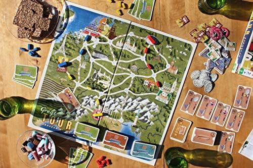Tactic Great Tour Viajes/Aventuras Niños - Juego de Tablero (Viajes/Aventuras, Niños, 45 min, Niño/niña, 8 año(s), Alemán, Holandés, Inglés): Amazon.es: Juguetes y juegos