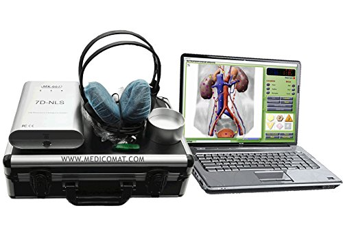 Wellness Program Package - Medicomat 7D-NLS Wellness Computer Gadgets designed to help you gain personal insight into your state of physical, emotional, mental, and spiritual wellbeing by Medicomat